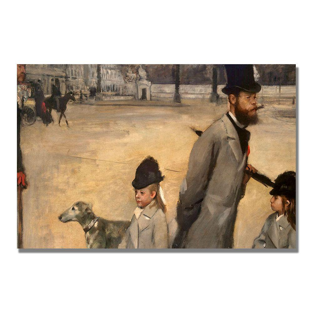 Trademark Fine Art 22 in. x 32 in. Place de la Concorde Canvas Art