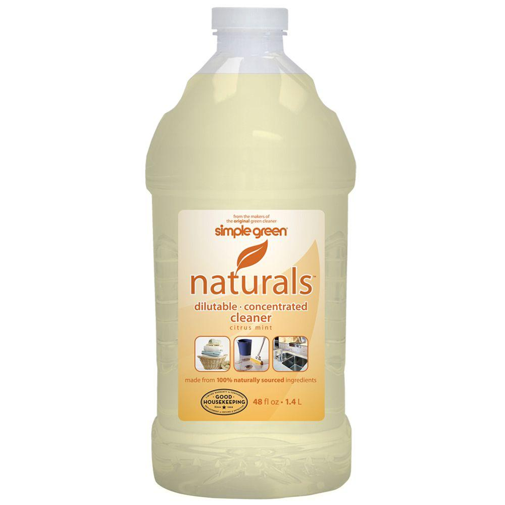 Simple Green 48 oz. Naturals Dilutable Concentrated Cleaner (Case of 6)-DISCONTINUED