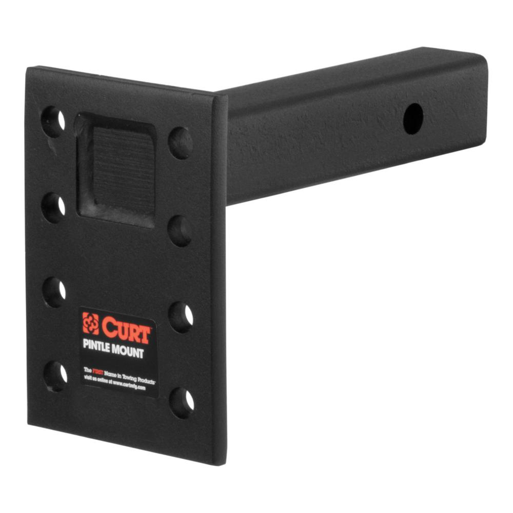 "CURT Adjustable Pintle Mount (2"" Shank, 10,000 lbs., 7"" High, 8"" Long)"