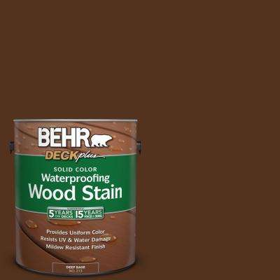 1 gal. #SC-123 Valise Solid Color Waterproofing Exterior Wood Stain