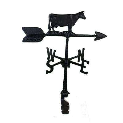 24 in. Aluminum Cow Weathervane