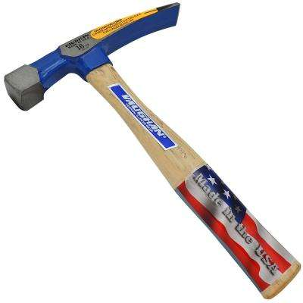 16 oz. Bricklayer's Hammer Carbide Tip