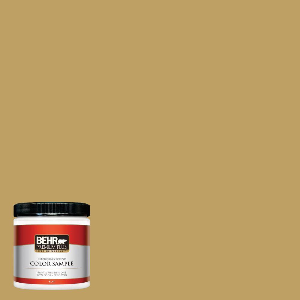 8 oz. #360F-5 Desert Moss Interior/Exterior Paint Sample