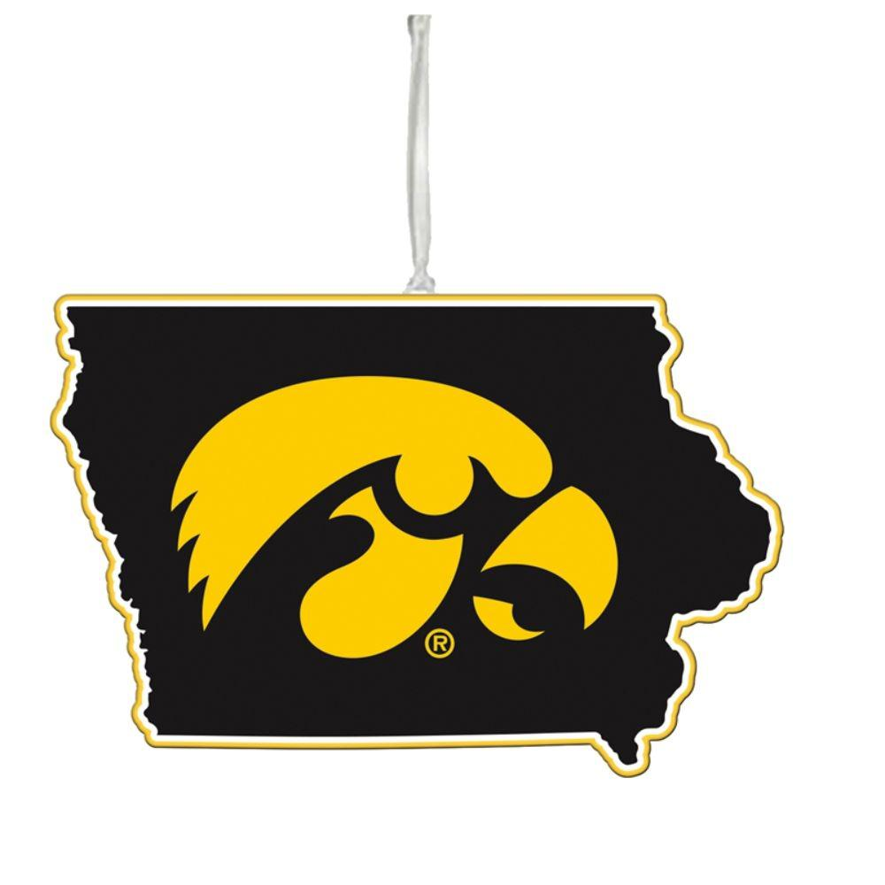 Team Sports America University of Iowa 5 in. NCAA Team State Christmas Ornament