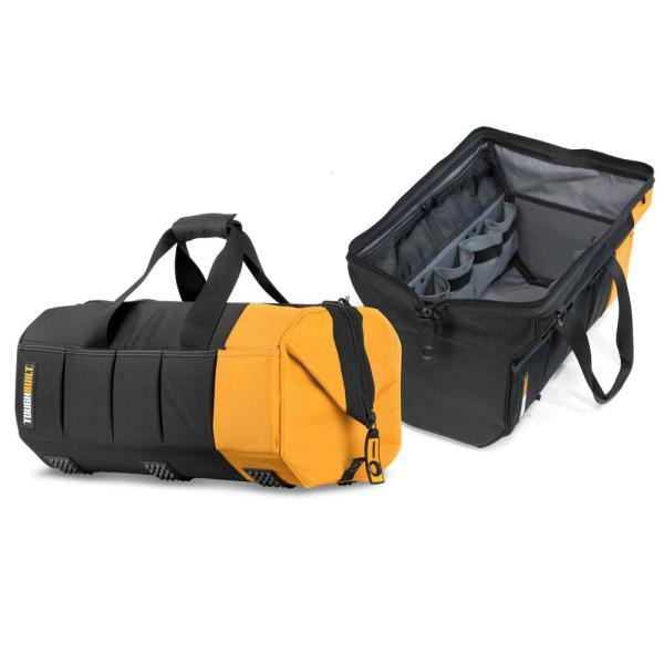 Massive Mouth 20 in. Tool Bag with 65-Pockets in Black