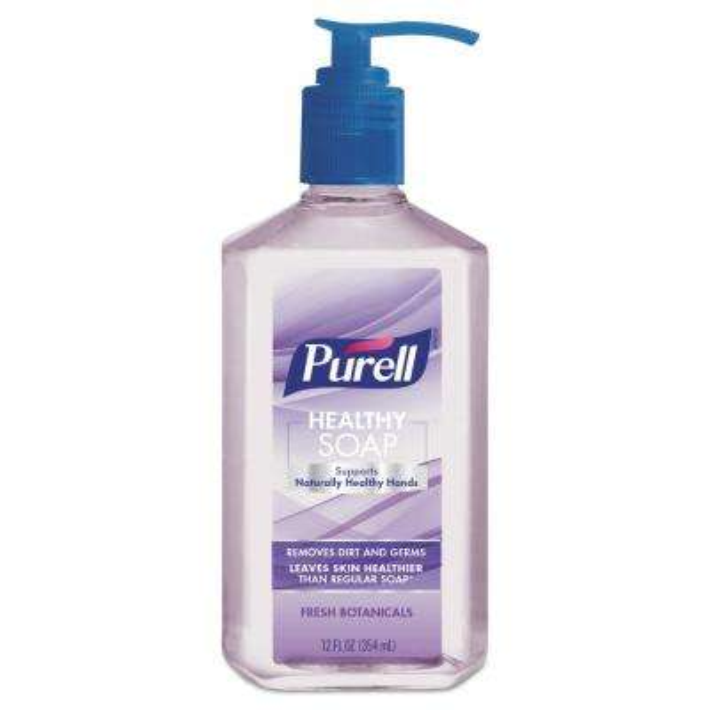 Healthy Soap 12 oz. Fresh Botanicals Scent Pump Bottle (6/Pack, 4 Pack/Carton)