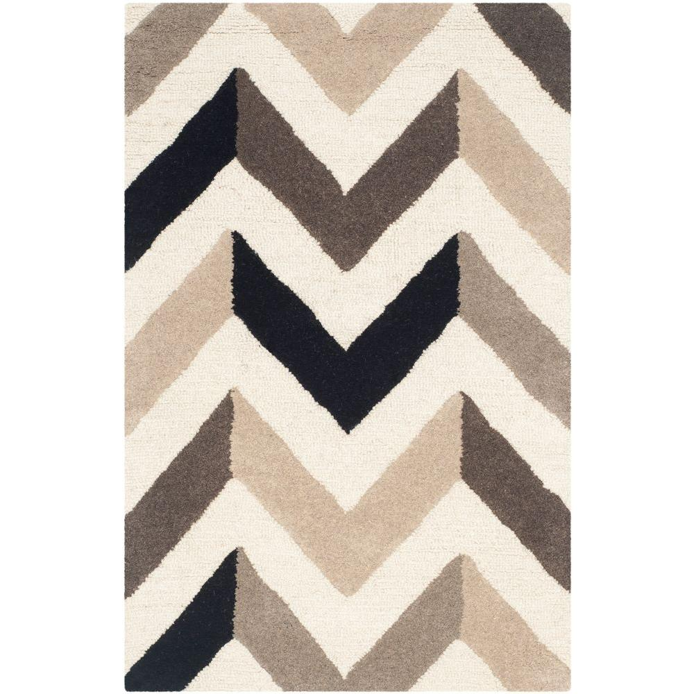Safavieh Cambridge Ivory Black 3 Ft X 4 Area Rug