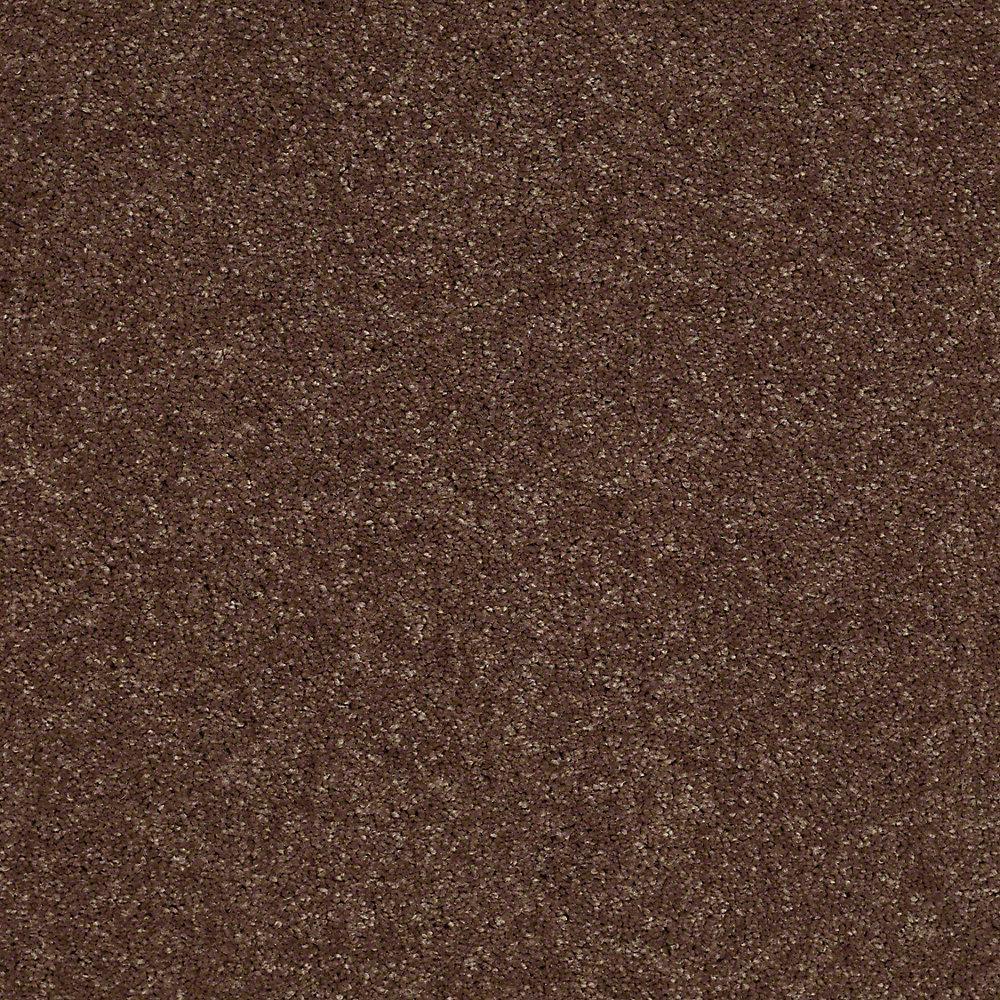 Carpet Sample - Brave Soul II 12 - In Color Fudge 8 in. x 8 in.