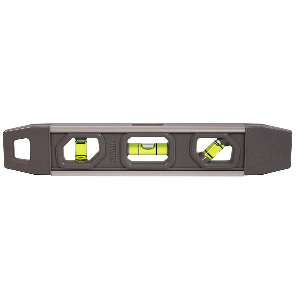 Johnson 9 in. Magnetic Torpedo Level-1405-0900 - The Home Depot