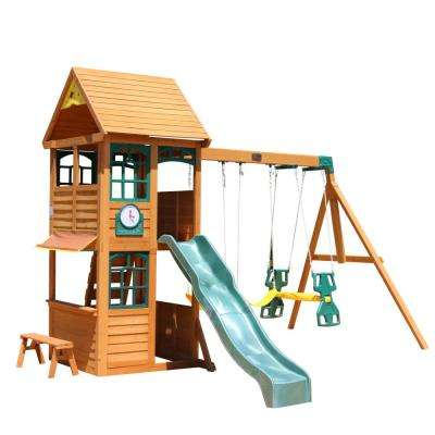 Brooksville Wooden Swing Set