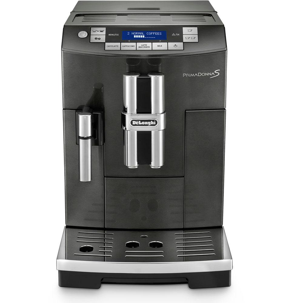 PrimaDonna S Deluxe Automatic Espresso Machine in Black