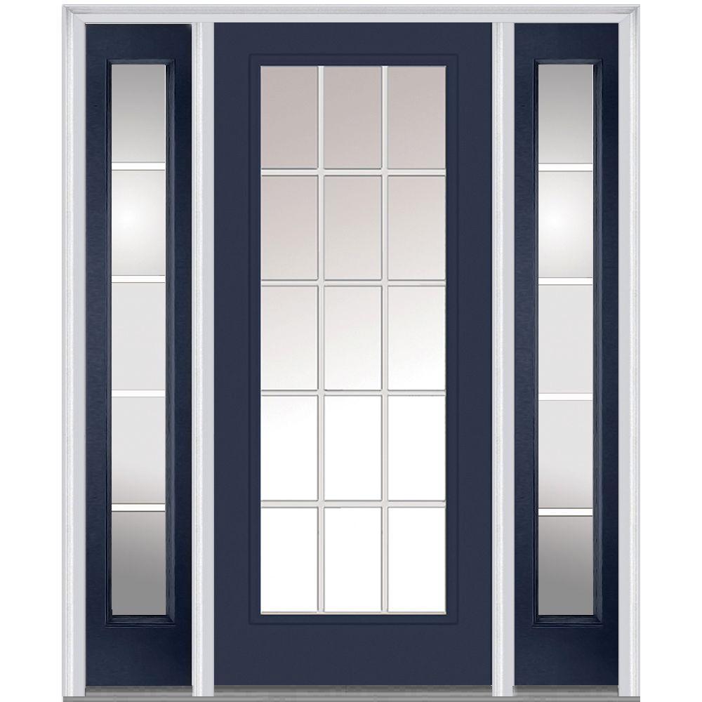 60 X 80 Single Door With Sidelites Front Doors Exterior Doors