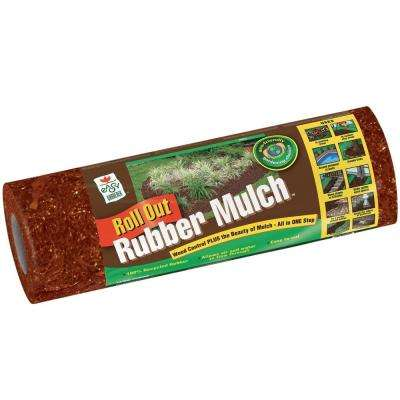 12 cu. ft. Roll-Out Red Rubber Mulch