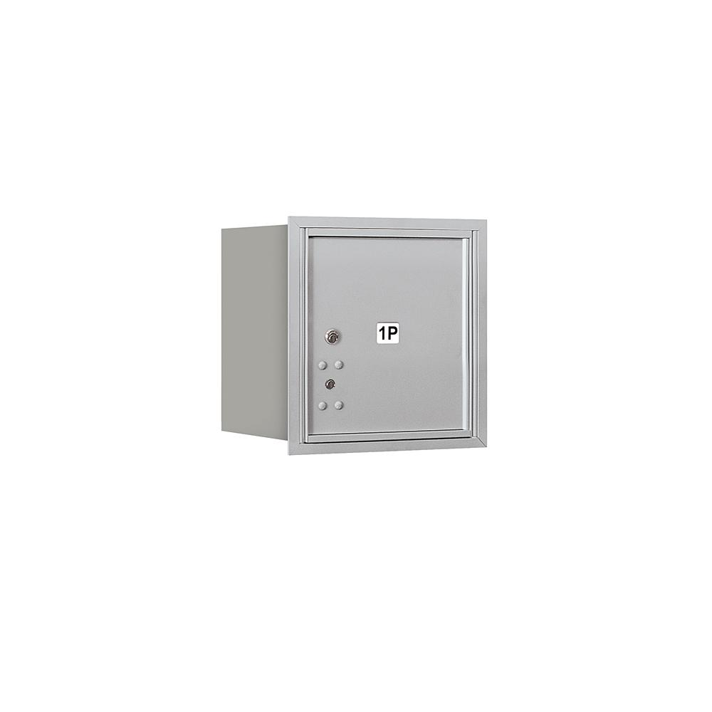 3700 Horizontal Series 1-Parcel Locker Recessed Mount Mailbox