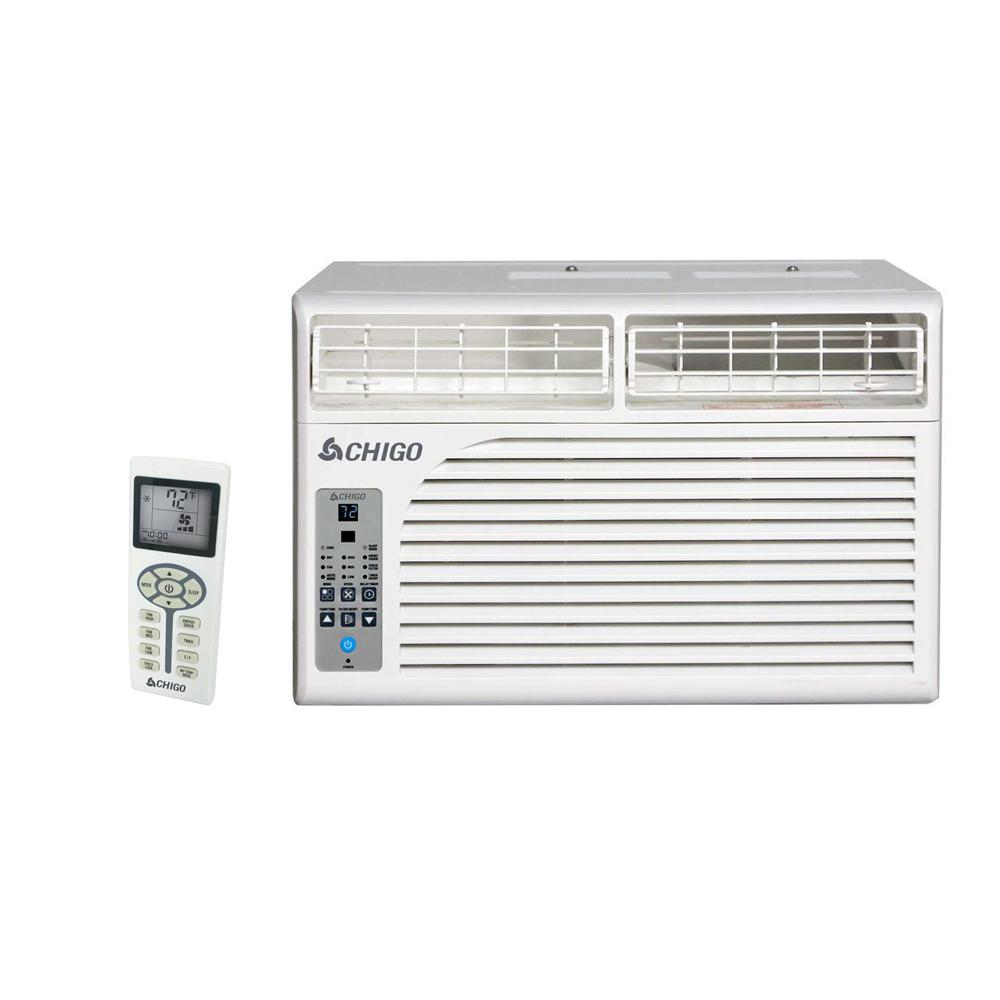 CHIGO Energy Star 8,500 BTU Window Air Conditioner with R...