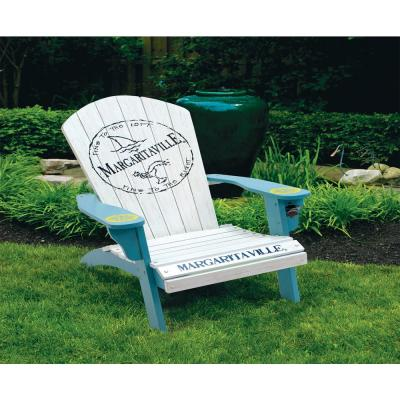 Fins To the Left Wood Adirondack Chair