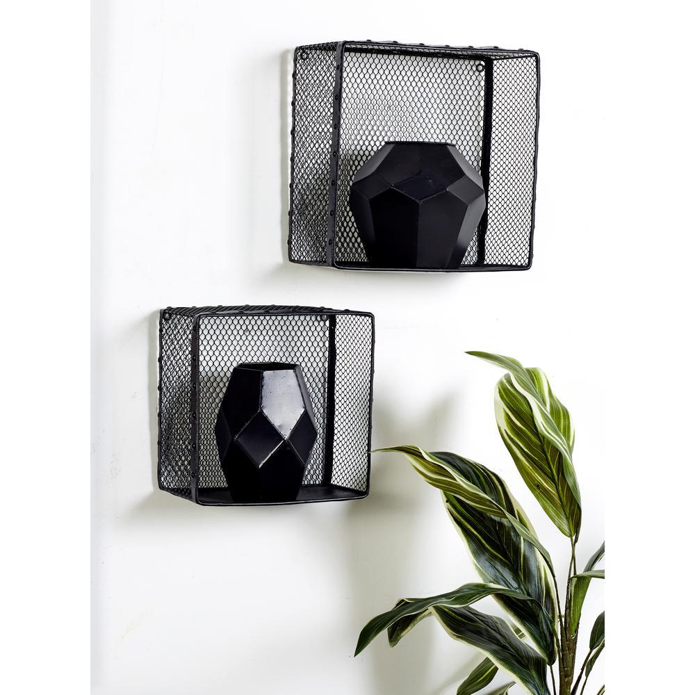 Rectangular Iron Wire Frame Baskets (Set of 3)