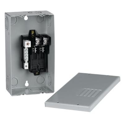 PowerMark Gold 70 Amp 2-Space 4-Circuit Indoor Single-Phase Main Lug Circuit Breaker Panel