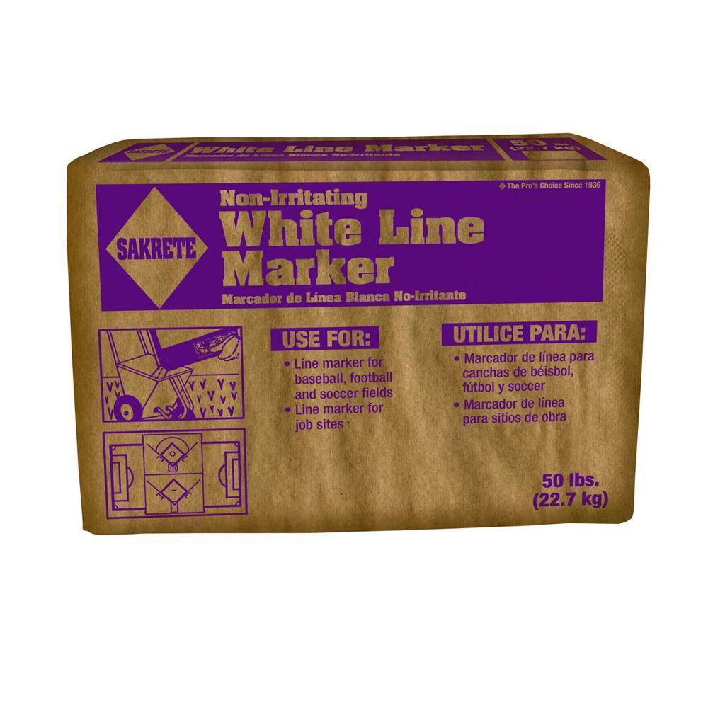 50 lb. White Line Marker