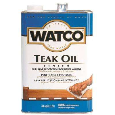 1 gal. Clear Matte Teak Oil (2-Pack)