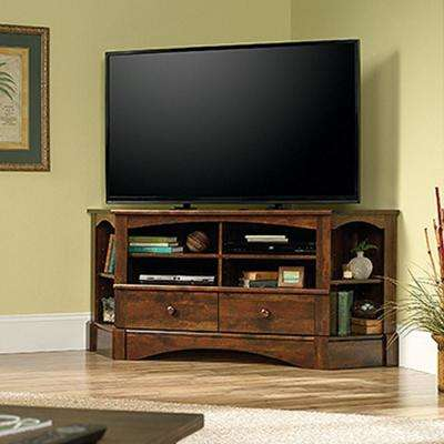 Harbor View Curado Cherry Corner Entertainment Center