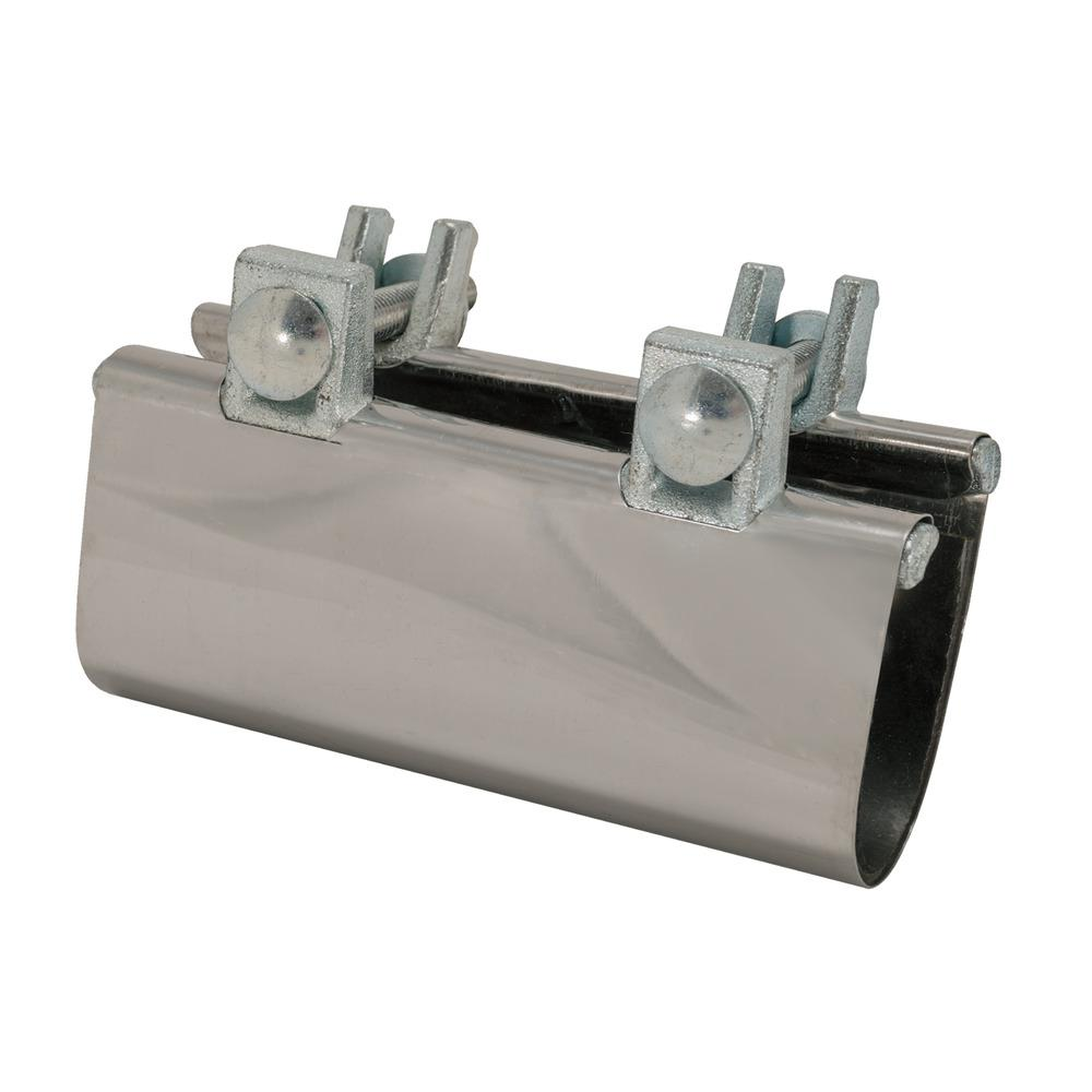 Eastman 2 In Ips Stainless Steel Pipe Repair Clamp 45198 The Home Depot