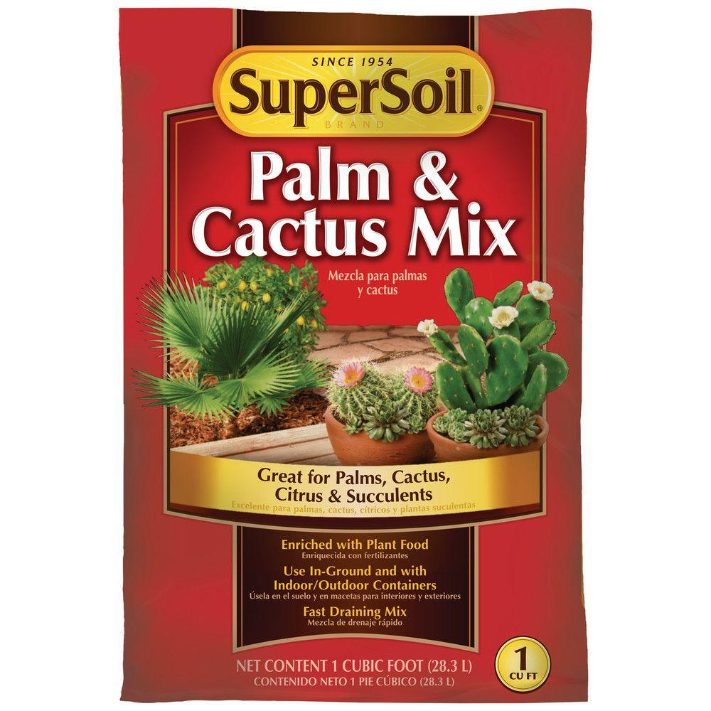 Supersoil 1 Cu Ft Cactus And Palm Mix 72051490 The Home Depot