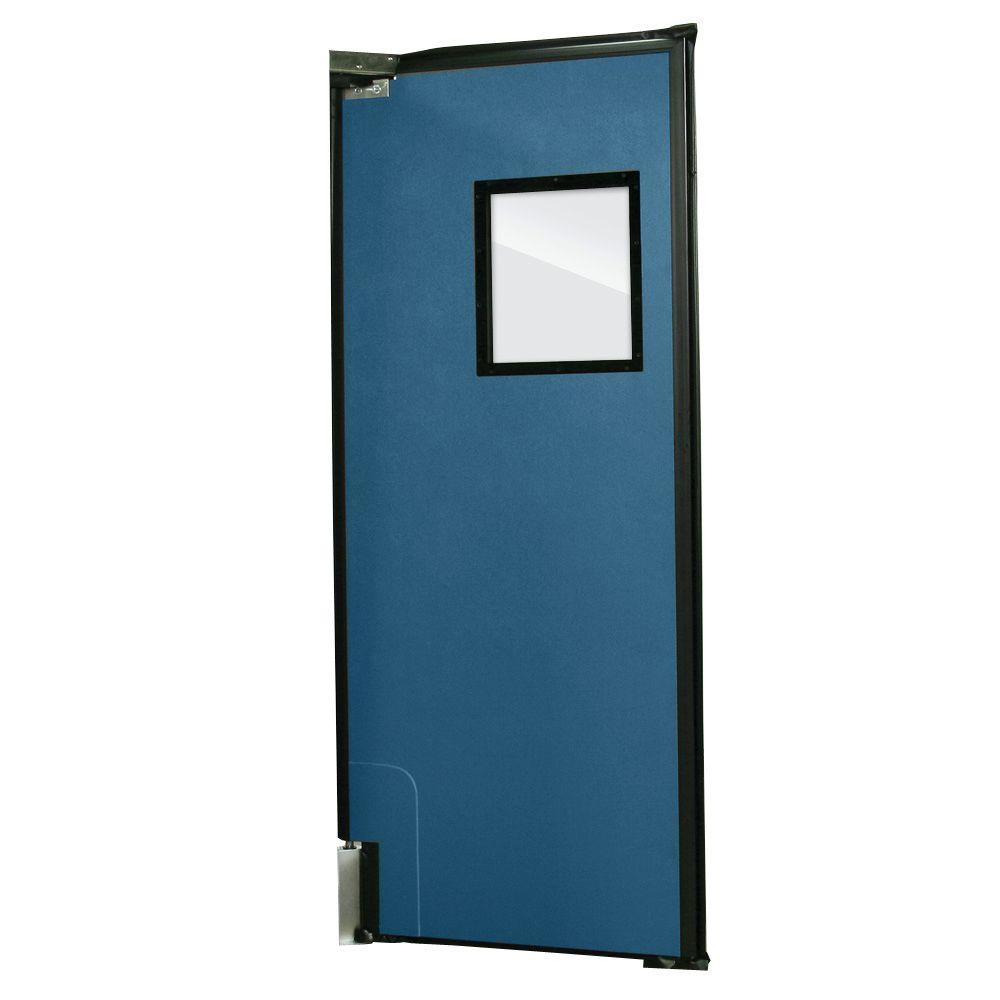 Aleco ImpacDor RD-175 1-3/4 in. x 48 in. x 84 in. Royal Blue Impact Door