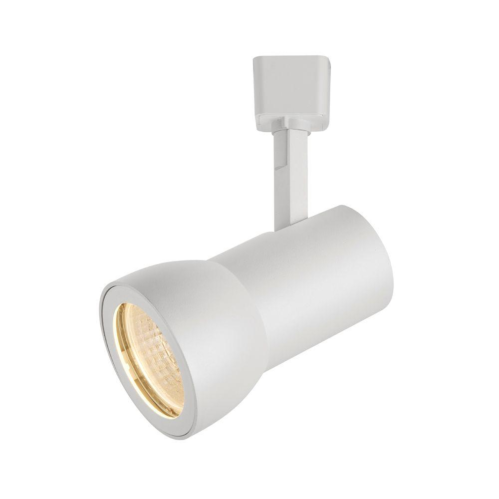 White LED Dimmable Medium Cylinder Track Lighting Head