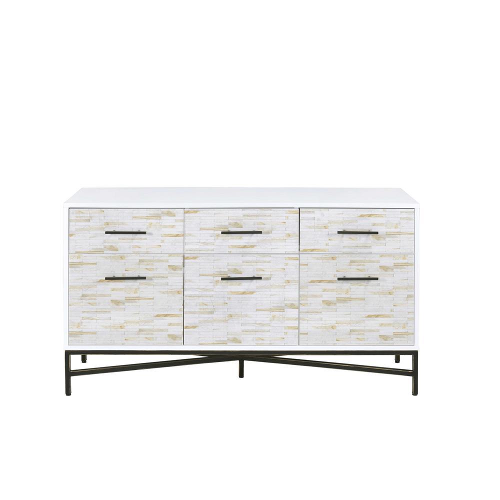Maisey White Dresser