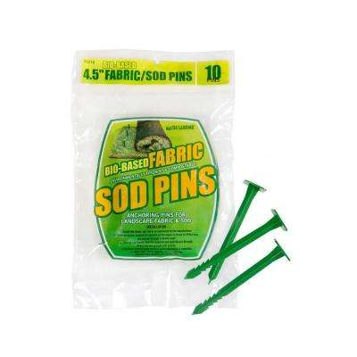 4.5 in. Bio Based Landscape Fabric/Sod Pins (10-Pack)