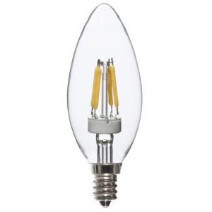 Varaluz 25W Equivalent Warm White Torpedo Dimmable LED Light Bulbs (8-Pack) by Varaluz