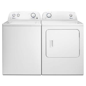 white amana electric dryers ned4655ew fa_300 amana 6 5 cu ft 240 volt white electric vented dryer with wrinkle