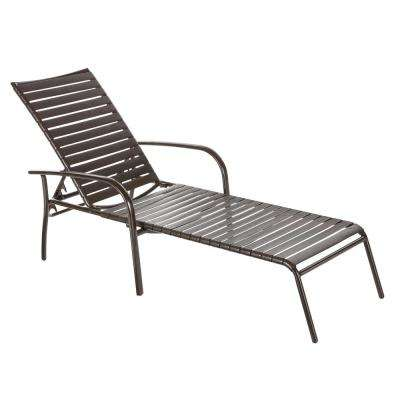 Astonishing Commercial Aluminum Brown Strap Outdoor Chaise Lounge 4 Pack Inzonedesignstudio Interior Chair Design Inzonedesignstudiocom