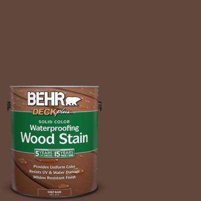 1 gal. #S-G-760 Chocolate Coco Solid Color Waterproofing Wood Stain