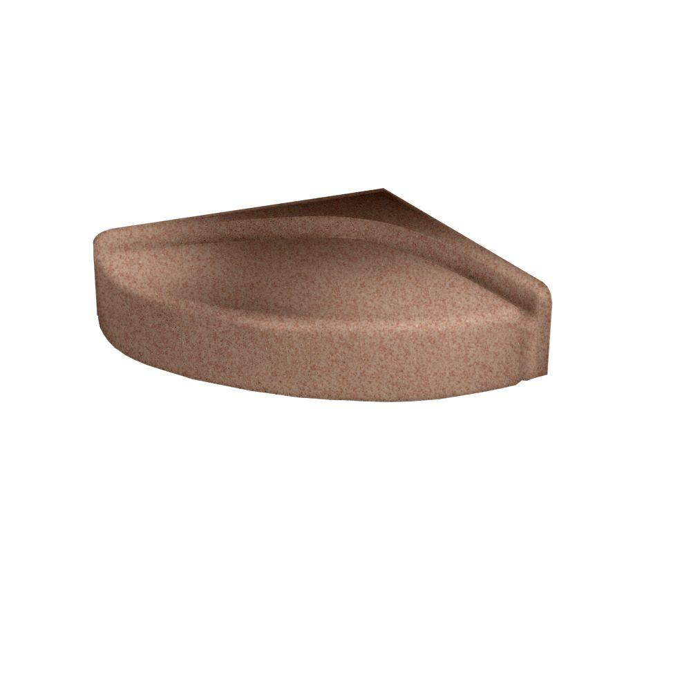 Swanstone 4 in. H Shower Seat in Ironweed-DISCONTINUED