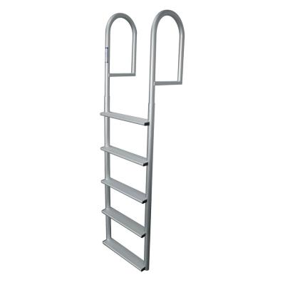 5-Step Wide Rung Aluminum Dock Ladder