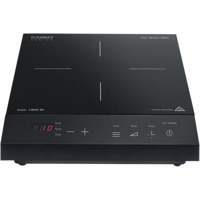 Single Induction Burner 11 in. Black Hot Plate