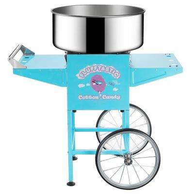 Flufftastic Cotton Candy Machine Floss Maker with Cart