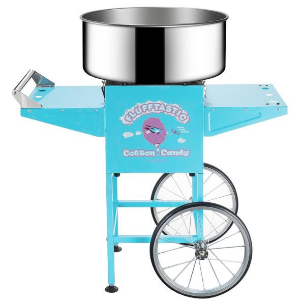 Great Northern Flufftastic Cotton Candy Machine Floss Maker with Cart