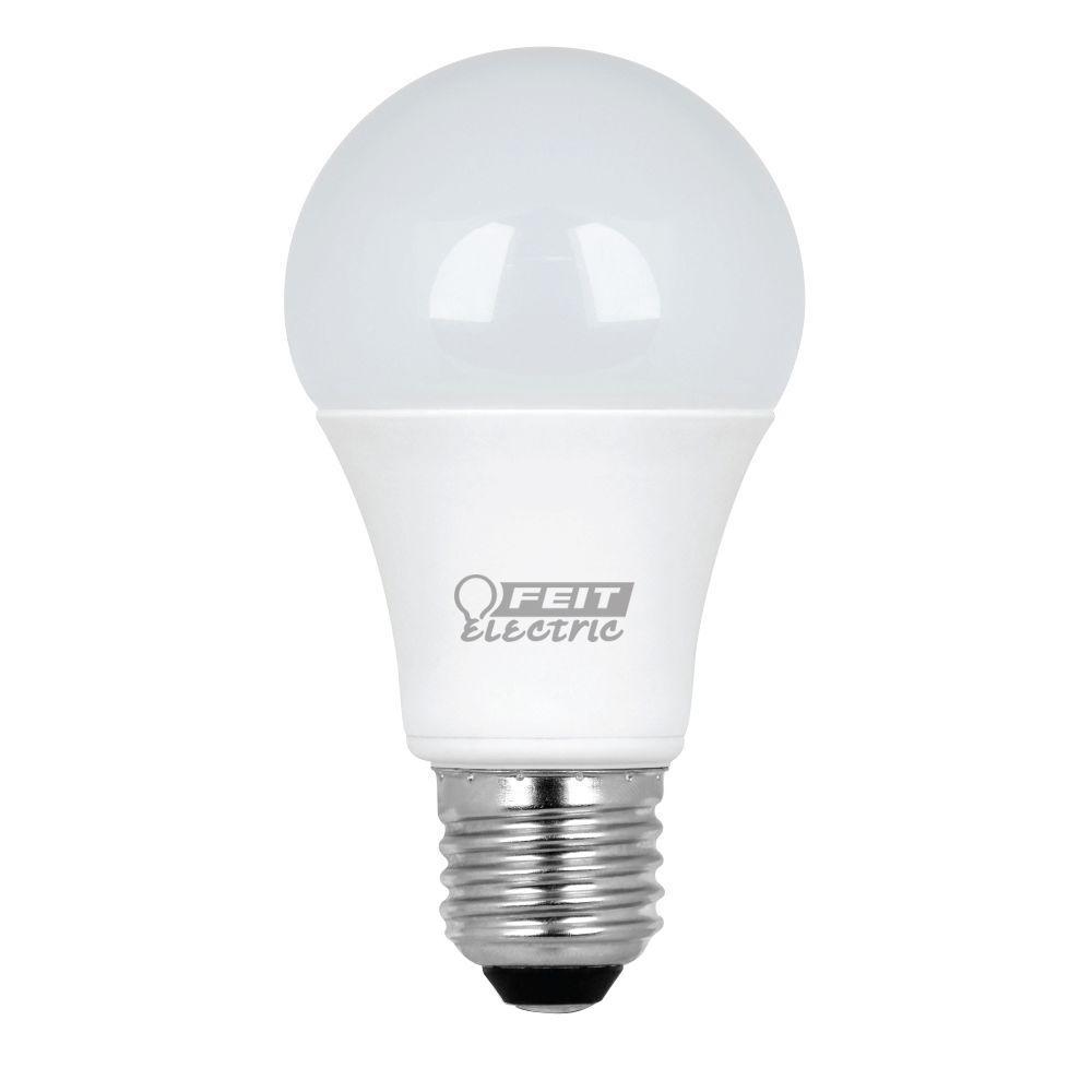 60W Equivalent Warm White A19 LED Light Bulb Maintenance Pack (10-Pack)