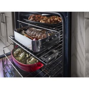 Kitchenaid 5 8 Cu Ft Slide In Gas Range With Self Cleaning