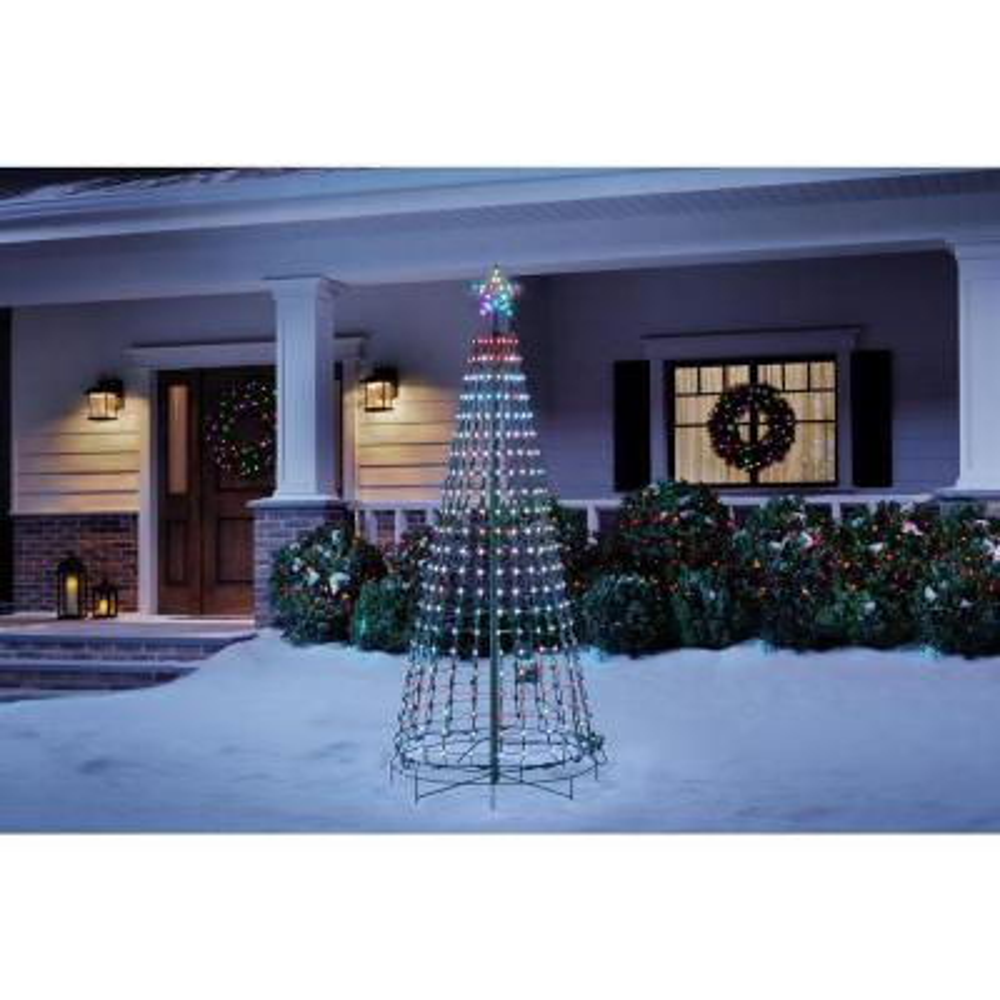 7.5 ft. LED 360-Degree Pixel Tree