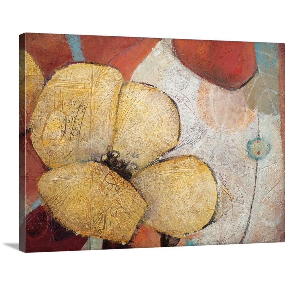 "40 in. x 30 in. ""Full Blossom II"" by  Don Li-Leger Canvas Wall Art"