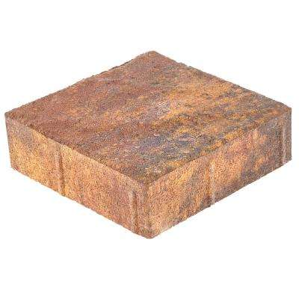 Valenda Medium 7.75 in. x 7.75 in. x 2.25 in. Indian Summer Concrete Paver (240 Pcs. / 103 Sq. ft. / Pallet)