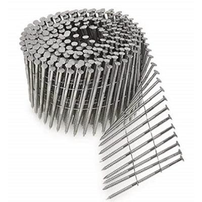 "BOX OF 1200 Nails Stainless Grip Rite MAXC62876 Wire Coil 2/""x.09/"" Ring Shank"