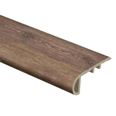 Texas Oak 1 in. Thick x 2-1/2 in. Wide x 94 in. Length Vinyl Stair Nose Molding