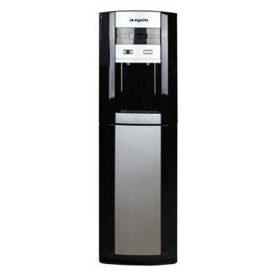 Water Cooler / Dispenser Bottom Loading in Black