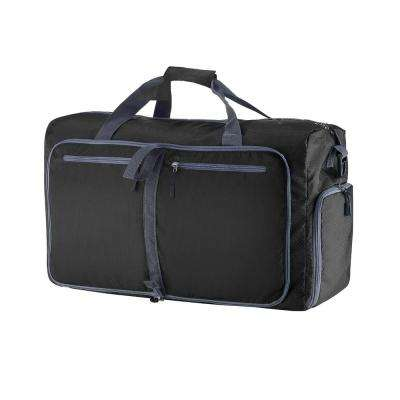 24 in. Black Folding Duffel Bag