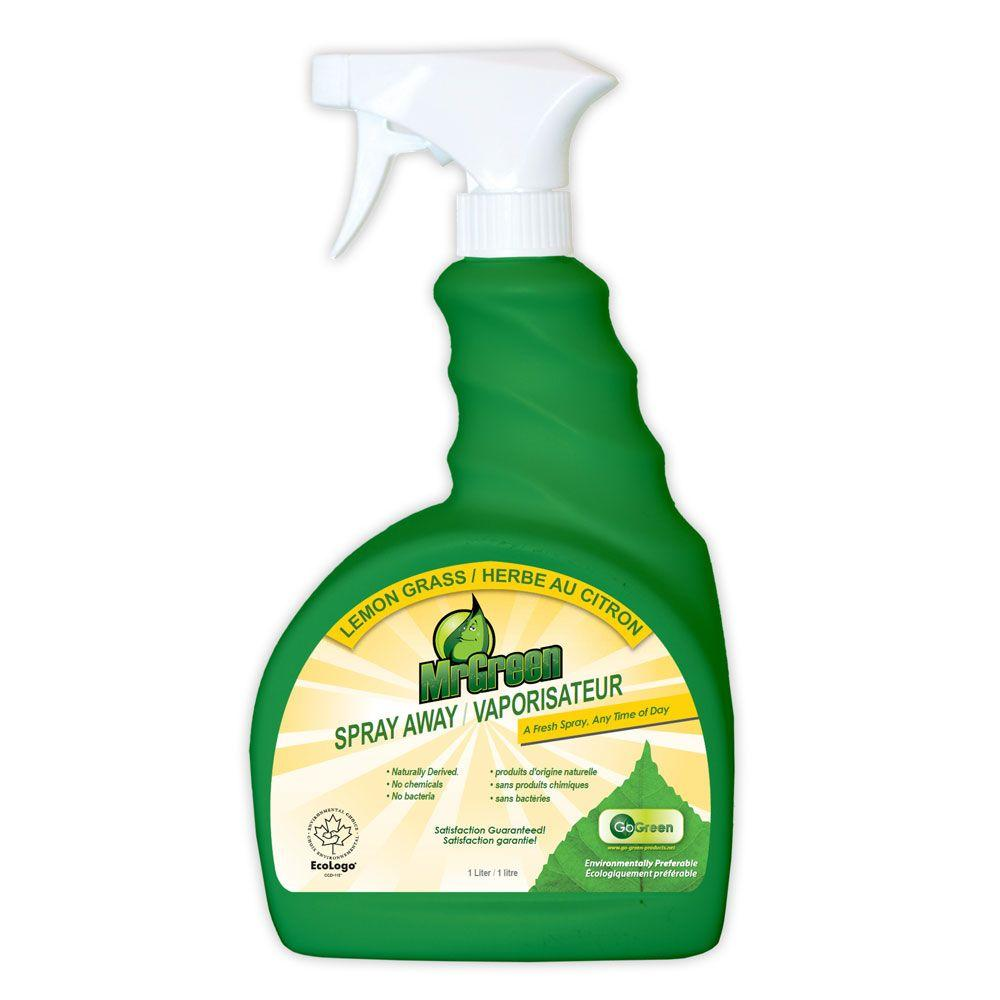 MrGreen 34 oz. Spray Away Lemon Grass Odor Eliminator